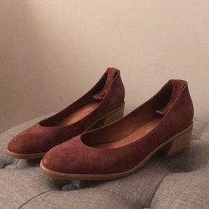 Free PeoplexJeffery Campbell Purple Heeled Flats
